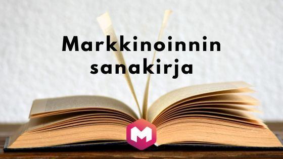Markkinoinnin sanakirja