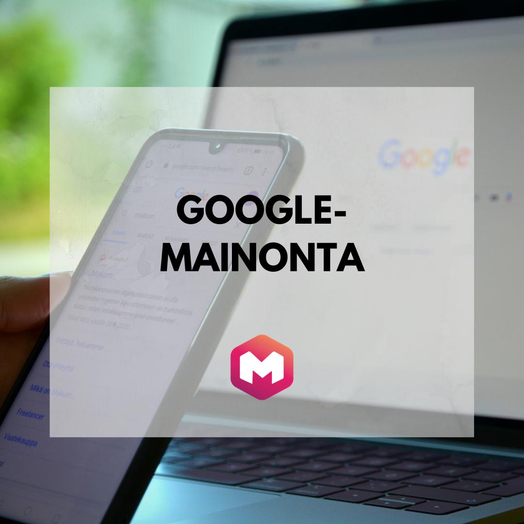 Google-mainonta Makum